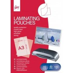 Lamineerimiskile College Antistatic A3 (303x426mm) 80mic/100L läbipaistev
