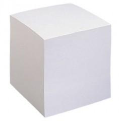 Märkmekuup 8,5x8,5 cm, valge, lahtine