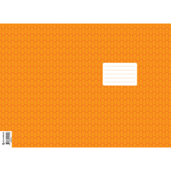 Vihiku kattepaber (430*310 mm), 50 lehte pakis, oranž