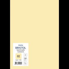 Kartong Bristol A4/200gr, seemisnahk (02), 20 lehte pakis