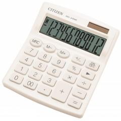 Kalkulaator (laua) Citizen SDC812NR WHE, 12 kohta, valge