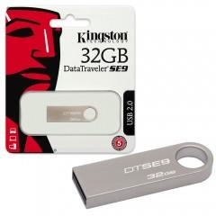 Mälupulk 32GB Kingston  Data Traveler (metallik SE9H)