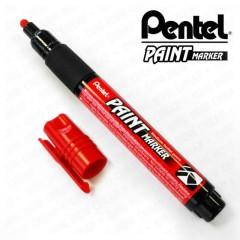Marker Pentel MMP20 permanent, punane