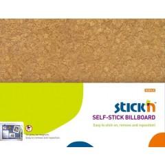 Liimtahvel StickN 58x46cm, pruun