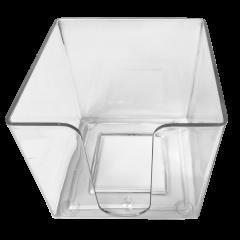 Märkmepaberi tops 9x9x9cm, läbipaistev