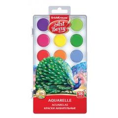 Akvarellvärvid ArtBerry UV kindel, 18 värvi