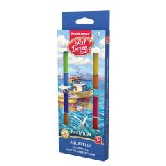 Akvarellvärvid ArtBerry Premium UV kindel, 12 värvi