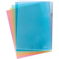 L-tasku A4 Clear Standard, sinine