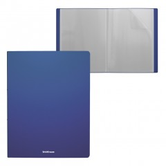 Menüükaaned Matt Classic A4 10 taskut, sinine