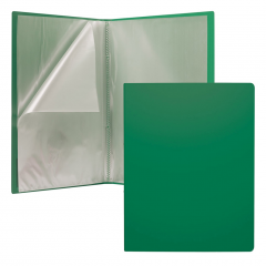 Menüükaaned Matt Classic A4 30 taskut, roheline
