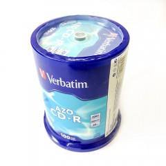 CD-R Verbatim spindel (100) 52x Crystal