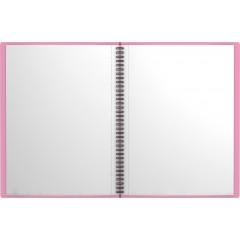 Menüükaaned spiraalis NEON A4, 40 taskut, 4 värvi assortii