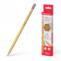 Harilik pliiats kummiga AMBER 101 HB