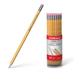 Harilik pliiats kummiga AMBER 101 HB, 42tk plasttopsis
