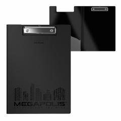 Kirjutusalus kaanega MEGAPOLIS A4 plastik, must