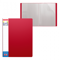 Menüükaaned CLASSIC PLUS A4 30 taskut, punane