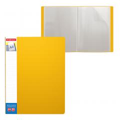 Menüükaaned CLASSIC PLUS A4 30 taskut, kollane