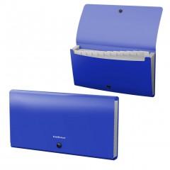 Lõõtsmapp A65 Matt Classic,12 taskut, sinine