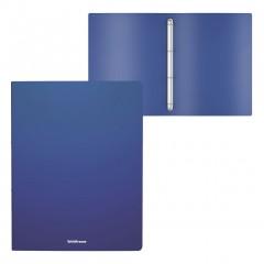 Rõngaskaas A4 Matt Classic, 4 rõngast, selg 24mm, sinine