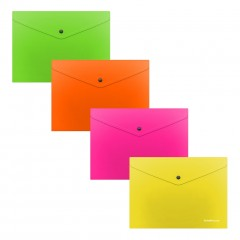 Kileümbrik trukiga C6 Glossy Neon, poolläbipaistev, 4 värvi assortii