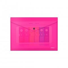 Kileümbrik trukiga A4 Glossy Neon, poolläbipaistev, roosa