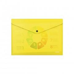 Kileümbrik trukiga A4 Glossy Neon, poolläbipaistev, kollane