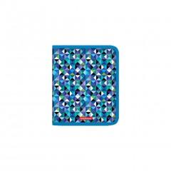 Plastmapp ringlukuga A5+ Cubes