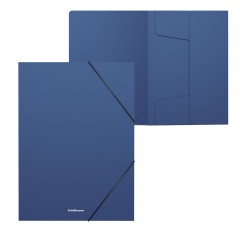 Nurgakummiga plastkarp A4 (selg 30mm) Classic, sinine