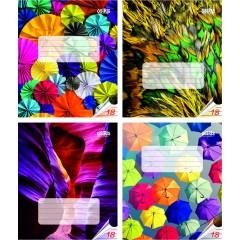 Vihik 18 lehte 22 joont, joonistused