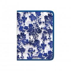 Plastmapp ringlukuga A4 Crystal Flowers
