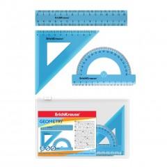 Joonlaua komplekt 3 osa Standard sinine, tõmblukuga kotis