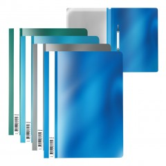 Plastkiirköitja A4 Glossy Ice Metallic, 4 värvi assortii