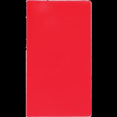 Mini kool, plastkaaned - punane