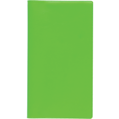 Ruuduline märkmik 76x134 mm, 60 lehte, spiraalköide, plastkaaned – heleroheline