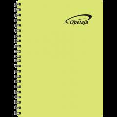 Õpetaja raamat, õhukesed plastkaaned – kollane