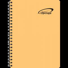Õpetaja raamat, õhukesed plastkaaned – oranž