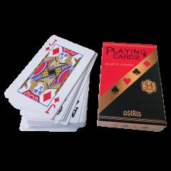 Mängukaardid OSIRIS, 54 kaarti, lamineeritud