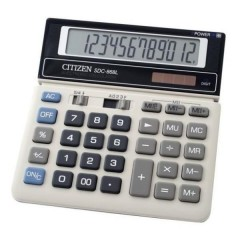 Kalkulaator (laua) Citizen SDC868L, 12 kohta