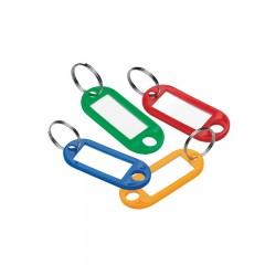 Võtmehoidja Forofis plasttopsis, 5cm, neli värvi, 12tk hind