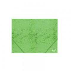 Nurgakummiga kartongmapp A4 Forofis 350g/m2, roheline