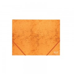 Nurgakummiga kartongmapp A4 Forofis 350g/m2, oranž