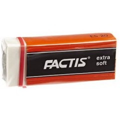 Kustutuskumm Factis ES20, extra soft