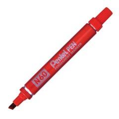 Marker Pentel N60 lõigatud,  punane