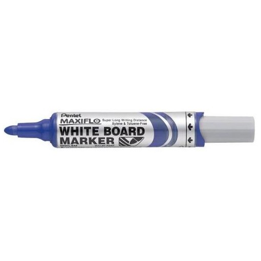 Valge tahvli marker MAXIFLO kooniline sinine