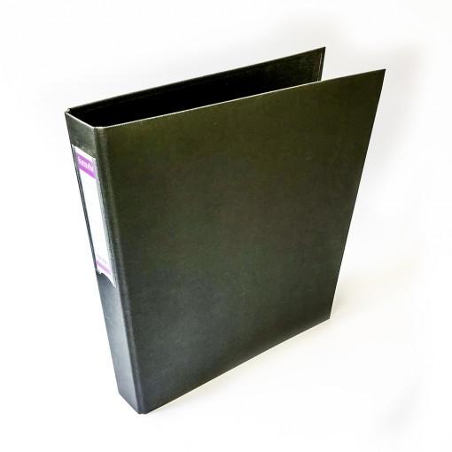 Rõngaskaas Handy A4/3,5 cm, 2 rõngast must