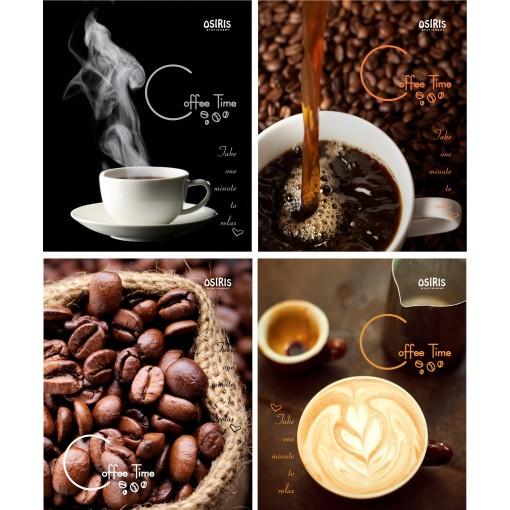 Kaustik 96 lehte ruut, COFFEE TIME