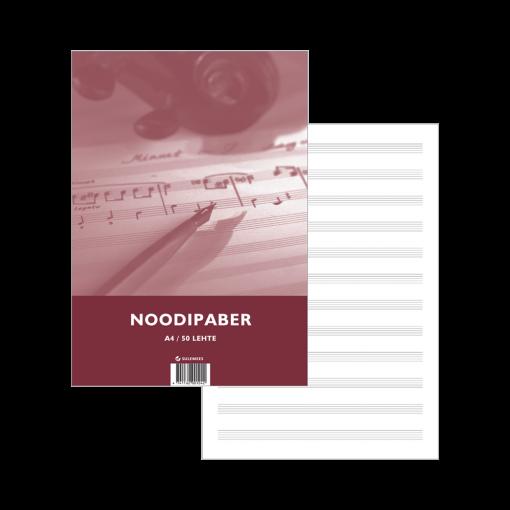 Noodipaber A4, 50 lehte pakendis