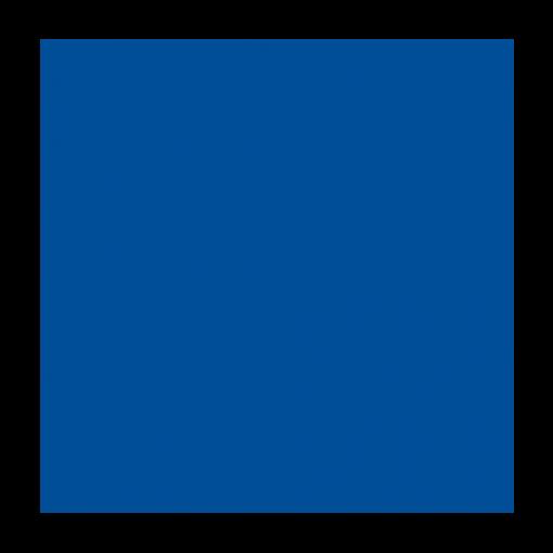 Plastikleht 920x700mm, 200mkr, sinine (Rigid 0005 KWH Plast OY)