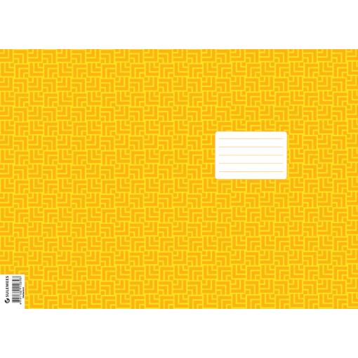 Vihiku kattepaber (430*310 mm), 50 lehte pakis, kollane