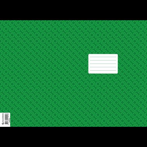 Vihiku kattepaber (430*310 mm), 50 lehte pakis, roheline